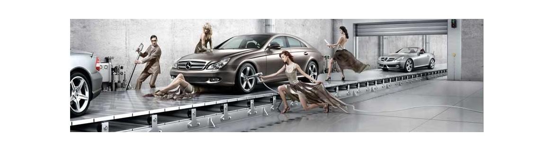 Materiel pour le nettotyage des véhicules performant et ecologique.