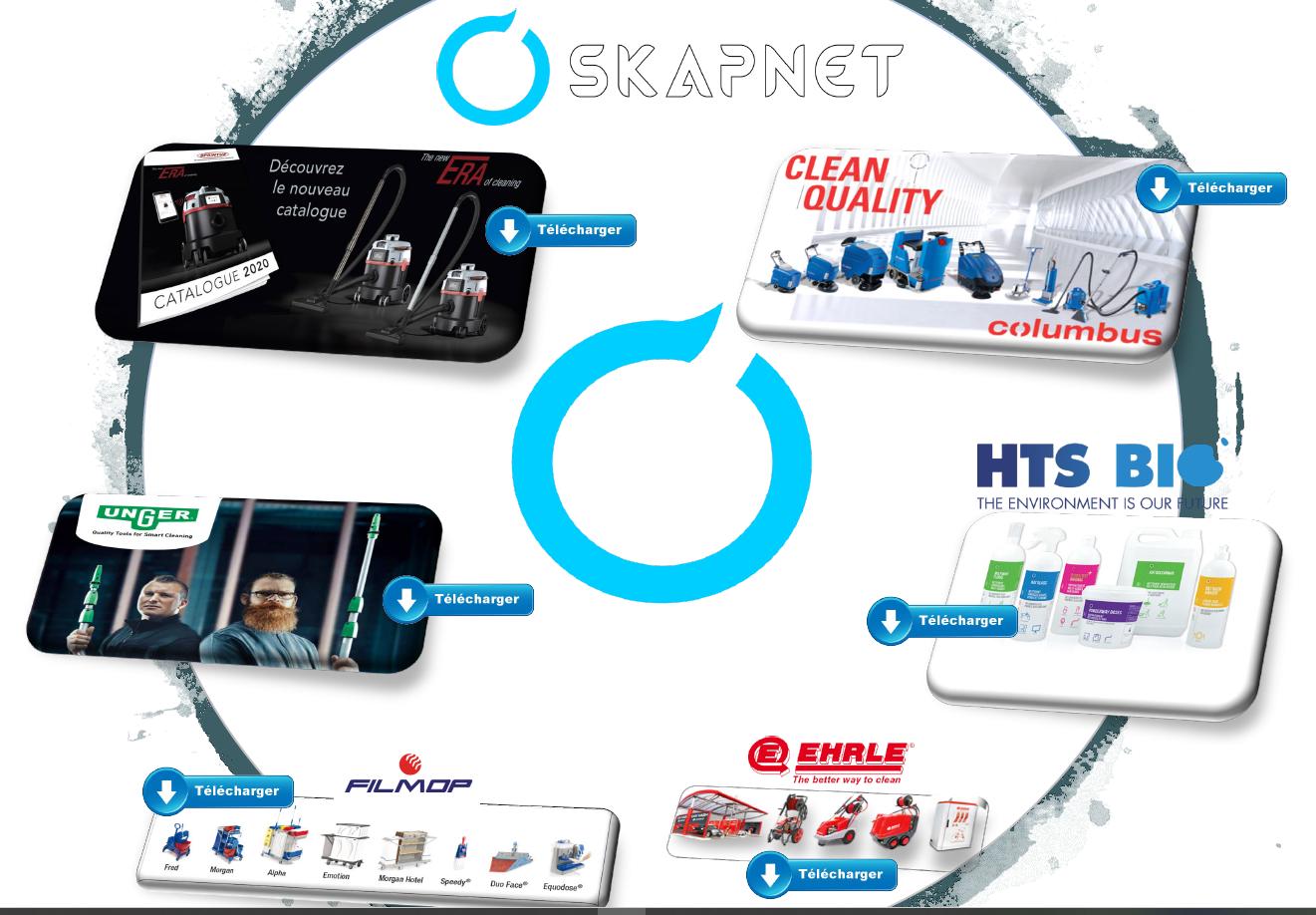 Catalogue matériel de nettoyage 2020