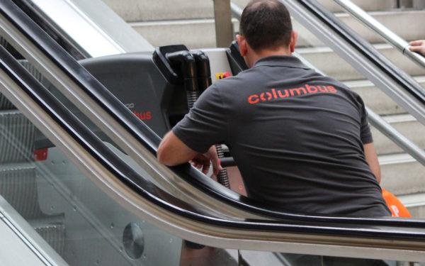 nettoyage escalators