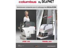 Nouveautés Columbus 2015 Matériel de nettoyage industriel.